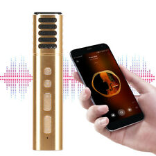 Wired Wireless Handheld Microphone Mic Receiver System For Karaoke Singing Gold