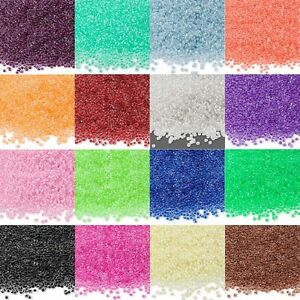 Lot of 900 Economical 11/0 #11 Color Lined Rocaille Small Round Glass Seed Beads