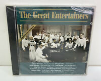 The Great Entertainers - Sinatra, Crosby, Astaire CDC 1053 (CD, 1998) NEW SEALED