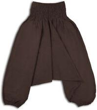 Pantalons marrons pour fille de 2 à 16 ans en 100% coton