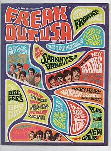 WARREN  ON THE SCENE  FREAK OUT, USA 2  1967  BEATLES  DOORS  BEE GEES