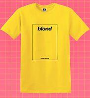 Blond T-shirt Boys Don't Cry Ocean Tee Frank Orange Blonde Ivy Music Nikes Top
