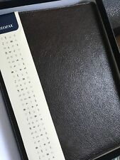 Heritage A5 Compact Filofax Brown Leather Boxed BNIB RRP £120.00