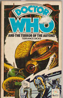 Doctor Who and the Terror of the Autons. A great read! 1st Target Books edn.
