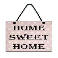 Home Sweet Home House Warming/New Home Gift Handmade Wooden Home Sign/Plaque 152