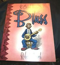 Robert Crumb Draws The Blues Paperback Book VERY GOOD CONDITION