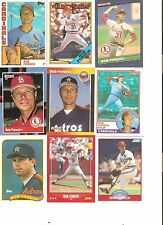 18 CARD BOB FORSCH BASEBALL CARD LOT       85