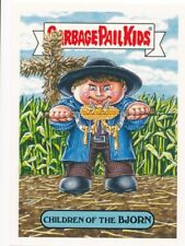 15A CHILDREN OF THE BJORN 2018 Garbage Pail Kids Horror-ible 80's HORROR CORN