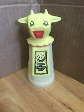 Vintage Whirley Industries Yellow 'Have A Happy Day' Creamer 6.5� Dispenser