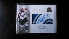 2009-10 The CUP MATT DUCHENE Rookie Scripted Swatches 7BRK Patch Auto 17/25 (C)
