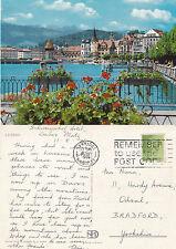 Lucerne Post-War (1945-Present) Collectable Swiss Postcards