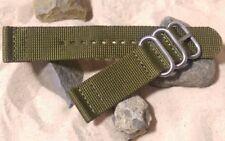 Z3™ Two-Piece Ballistic Nylon w/ Brushed Hardware By NATO Strap Co.(℠)