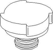 Mg Mg Zt 2001-2005 Plastic Radiator Cap Accessory Replacement Part 1.4 Bar