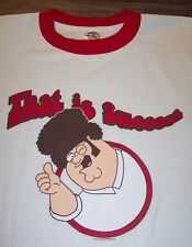 VINTAGE STYLE Family Guy PETER GRIFFIN T-Shirt LARGE NEW w/ TAG