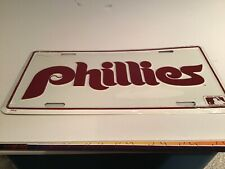 Philadelphia Phillies Vintage License Plate