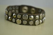 Diesel Abrony Bracciale bracelet Unisex Armband used look  leder leather