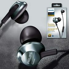 Philips in Ear Headphones Wired Earbuds with Microphone Powerful Bass Hi-Res6305