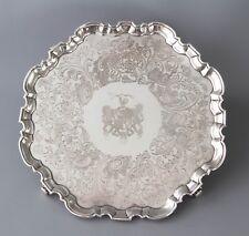 A Superb George II Silver Salver, John Luff London 1744
