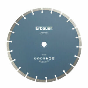 Erbauer MASONRY/STONE SEGMENTED DIAMOND CUTTING BLADE 300 X 20MM