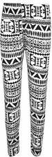 Aztec Machine Washable Plus Size Leggings for Women