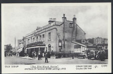 "London Postcard - Sidcup (Mispelt Sidup) - ""The Old Black Horse"" P957"