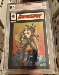 Bloodshot #1 PGX (Not CGC SS) 9.4! Signed by Signed By Barry Windsor-Smith! RARE