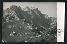 Posted C1960s: Kamnisk Saddle Lodge Mountain Hostel: 8 Stamp Marks