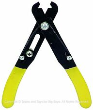 """WIRE STRIPPER 5"""" Electrical Tool Cuts 24-10 Gauge Screw Adjustment Hobby New i"""