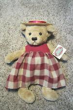 Stuffed Bear Cottage Collectibles Ganz Brand New
