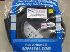 55 56 57 CHEVY SEDAN DOOR WEATHERSTRIPS BY SOFF SEAL #10003