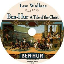 Ben-Hur: A Tale of the Christ, Lew Wallace Audiobook on 1 MP3 CD Free Shipping