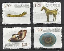 CHINA 2018-11 絲綢之路文物  Cultural Relics along Silk Road I Stamp