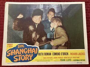 The Shanghai Story 1954 54-262 Original Movie Lobby Card 5 Edmond O'Brien 11x14