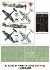 Montex Super Mask 1:32 Bf-109 G-14 for Hasegawa Kit Spraying Stencil #K32107