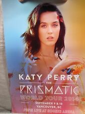 Katy Perry Prismatic Tour Poster 2014 Vancouver BC Hand Numbered Lithograph