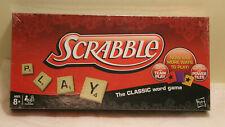 Scrabble Crossword Game by Hasbro & Milton Bradley NEW Wood Tiles Factory Seal