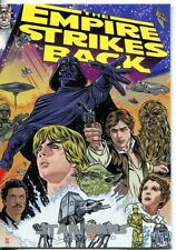 Star Wars Empire Strikes Back Illustrated Movie Poster Chase Card MP-5