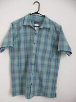Patagonia Button Front Short Sleeve Shirt - Mens M - Plaid