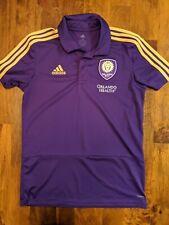 Orlando City SC Polo Shirt Medium Used MLS Jersey