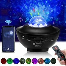 LED Projektor Sternenhimmel Lampe Nachtlicht Bluetooth Musik Fernbedienung RGBW