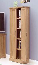 Mobel CD DVD storage cabinet cupboard solid oak living room furniture