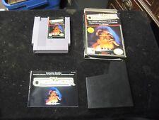 Original Nintendo NES THE CHESSMASTER Video Game w Box Manual & Case CIB