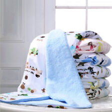 Newborn baby blanket kids thick cotton cashmere blanket travel blankets infant