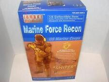 "Elite Force~Marine Force Recon 1/6 Scale 12"" Action Figure~Sniper~US Marine Corp"