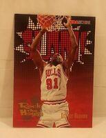 1995-96 NBA Hoops #376 Dennis Rodman Chicago Bulls Basketball Card