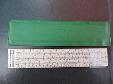 Ancienne Abaque Règle à calcul  Appareil de mesure Instrument Sciences FLICA