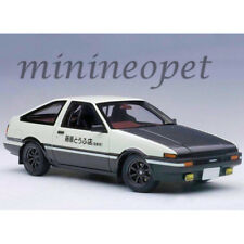 AUTOart 78799 INITAIL D PROJECT D FINAL TOYOTA SPRINTER TRUENO AE86 1/18 WHITE