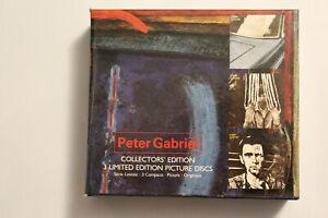 RARE coffret 3 CD Peter Gabriel - 3 premiers albums