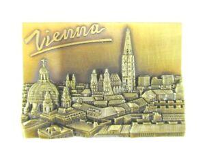 Vienna St.Stephen's Cathedral Magnet 3D Metal, Souvenir Austria, New