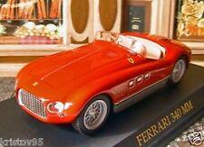 FERRARI 340 MM ROSSO ROUGE RED FABBRI 1/43 NEW ITALIA